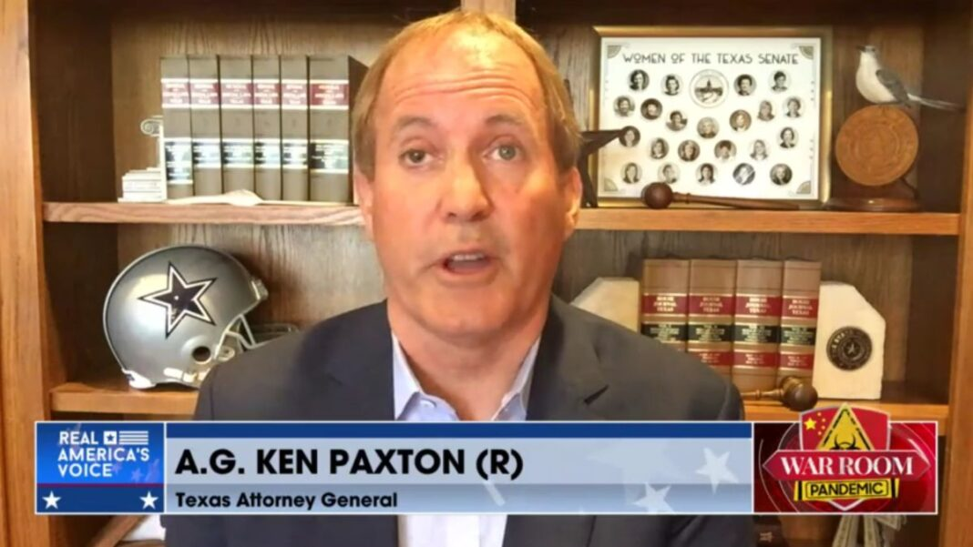 Attorney General Ken Paxton on Steve Bannon's War Room Pandemic