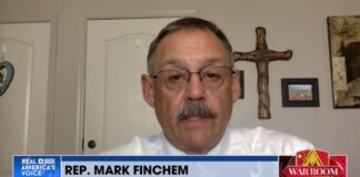 Rep. Mark Finchem on War Room with Steve Bannon