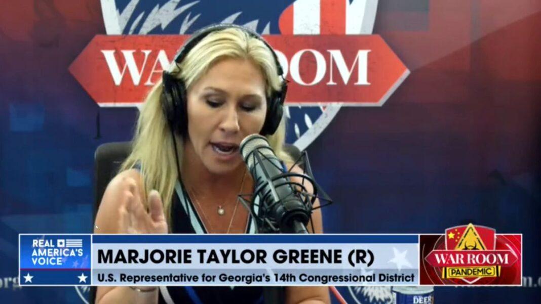 Marjorie Taylor Green on War Room Pandemic