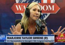 Marjorie Taylor Greene on War Room