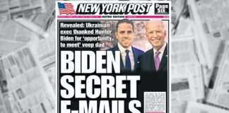 New York Post - Biden Secret E-Mails