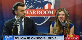 Jack Posobiec and Natalie Winters on War Room with Steve Bannon