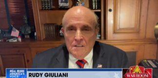 Rudy Giuliani on War Room with Steven Bannon