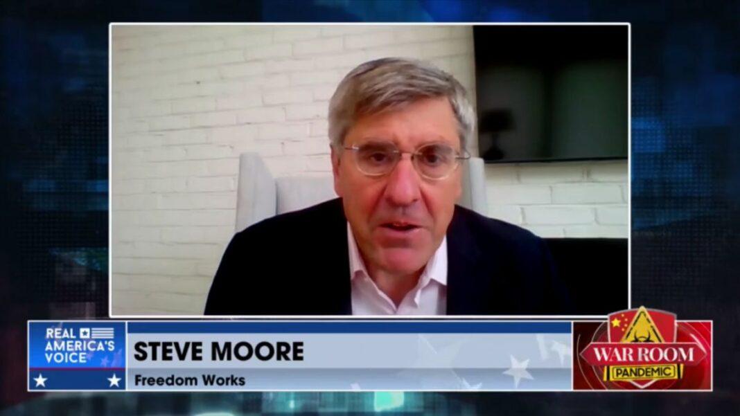 Steve Moore on War Room with Steve Bannon