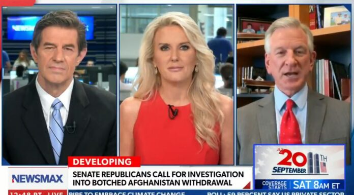 Tommy Tuberville on NEWSMAX