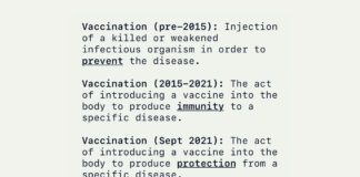 CDC Vaccine Definitions