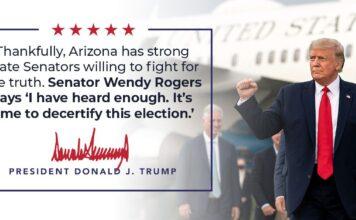 Donald Trump on Decertifying Arizona Election