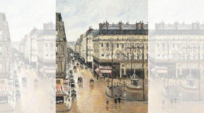 """Rue St.-Honore, Apres-Midi, Effet de Pluie"""