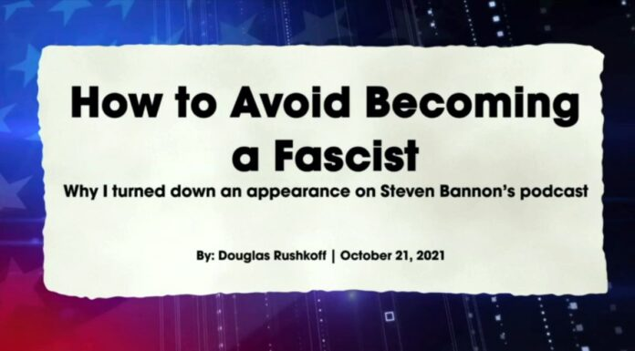 How To Avoid Becoming a Fascist