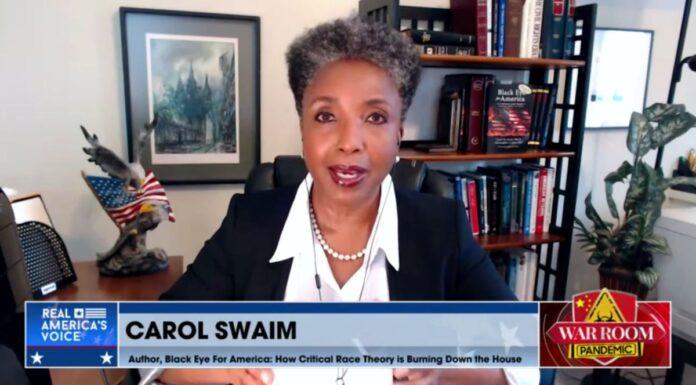 Carol Swain on War Room