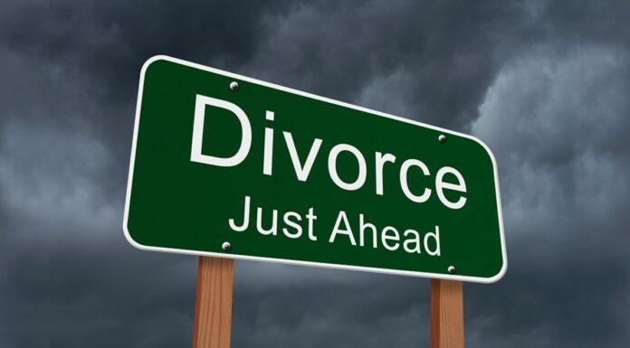 Divorce Just Ahead