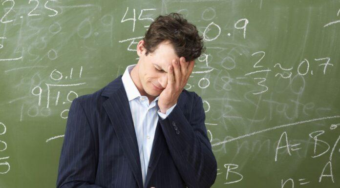 Frustrated Teacher