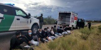 Eleven migrants on Arizona-Mexico Border were discovered in U-Haul with no means of escape