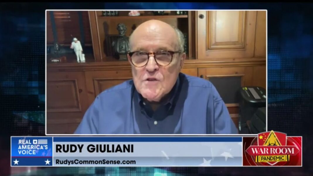 Rudy Giuliani on War Room